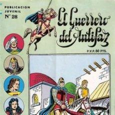Tebeos: EL GUERRERO DEL ANTIFAZ. SERIE INEDITA EDITORIAL VALENCIANA Nº 28. Lote 147041514