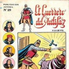 Tebeos: EL GUERRERO DEL ANTIFAZ. SERIE INEDITA EDITORIAL VALENCIANA Nº 29. Lote 147041578