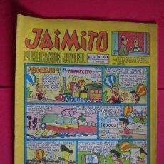 Tebeos: JAIMITO Nº 1047 EDITORIAL VALENCIANA 1969 ORIGINAL CON HEROES DEL DEPORTE DE AMBROS. Lote 147047846