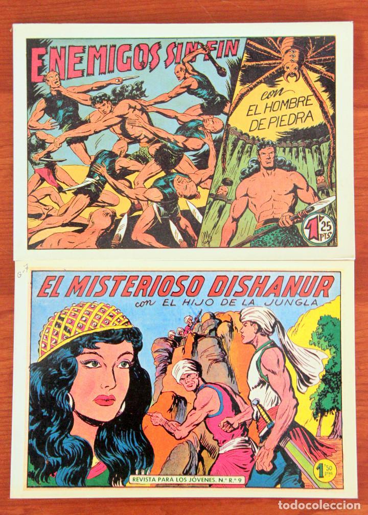 GAGO:PURK EL HOMBRE DE PIEDRA Nº2+EL HIJO DE LA JUNGLA Nº5-VALENCIANA-FACSIMIL (Tebeos y Comics - Valenciana - Hijo de la Jungla)