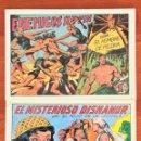 Tebeos: GAGO:PURK EL HOMBRE DE PIEDRA Nº2+EL HIJO DE LA JUNGLA Nº5-VALENCIANA-FACSIMIL. Lote 147263786