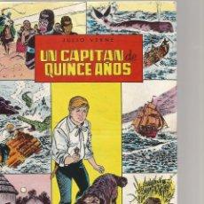 Tebeos: CLASICOS ILUSTRADOS JULIO VERNE UN CAPITAN DE QUINCE AÑOS Nº 6. Lote 147527750