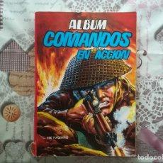 Tebeos: ALBUM COMANDOS EN ACCION Nº 1 QUE CONTIENE NUMEROS 1, 2 Y 3. Lote 147582214
