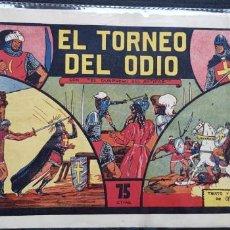 Tebeos: TEBEO / CÓMIC 1944 ORIGINAL EL GUERRERO DEL ANTIFAZ N 4 EL TORNEO DEL ODIO VALENCIANA. Lote 147615290