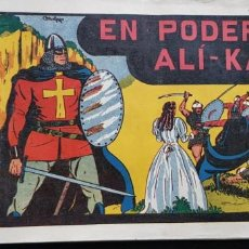 Tebeos: TEBEO ORIGINAL 1943 EL GUERRERO DEL ANTIFAZ N 2 EL PODER DE ALI-KAN VALENCIANA . Lote 147627054