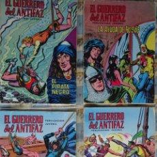 Tebeos: 41 COMINC DEL GUERRERO DEL ANTIFAZ DE LA REEDICCION DE COLOR DEL AÑO 1972 DE LA EDIT. VALENCIANA. Lote 147745590