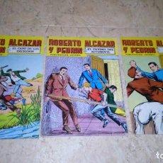 Tebeos: 3 CÓMICS , ROBERTO ALCÁZAR Y PEDRIN , N° 192 197 228. AÑO 1979. Lote 147752282