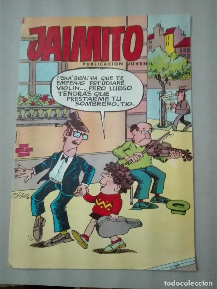 JAIMITO NÚMERO 1654 EDITORA VALENCIANA 1958 (Tebeos y Comics - Valenciana - Jaimito)