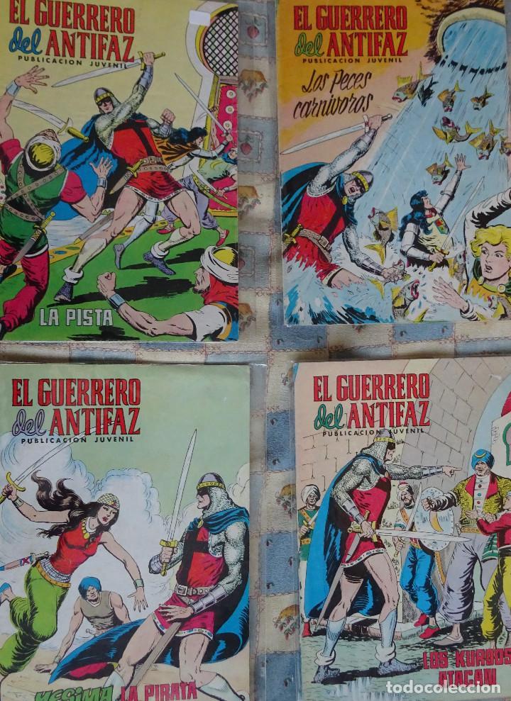 87 COMINC DEL GUERRERO DEL ANTIFAC DE LA REEDICCION DE COLOR DEL AÑO 1972 DE LA EDIT. VALENCIANA (Tebeos y Comics - Valenciana - Guerrero del Antifaz)
