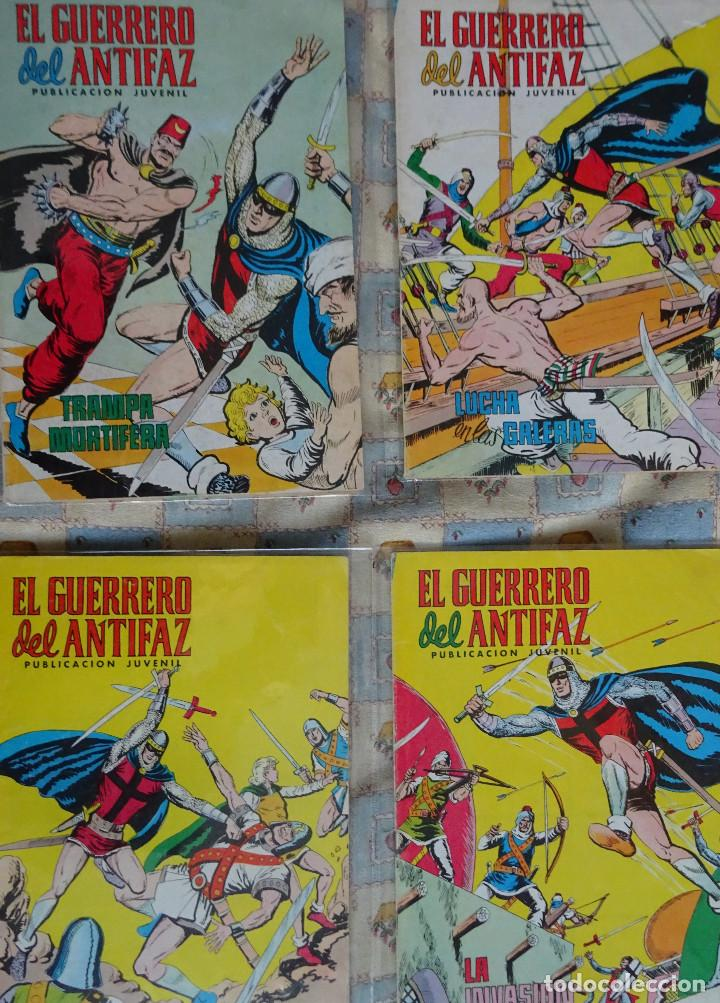 Tebeos: 87 COMINC DEL GUERRERO DEL ANTIFAC DE LA REEDICCION DE COLOR DEL AÑO 1972 DE LA EDIT. VALENCIANA - Foto 2 - 148005482