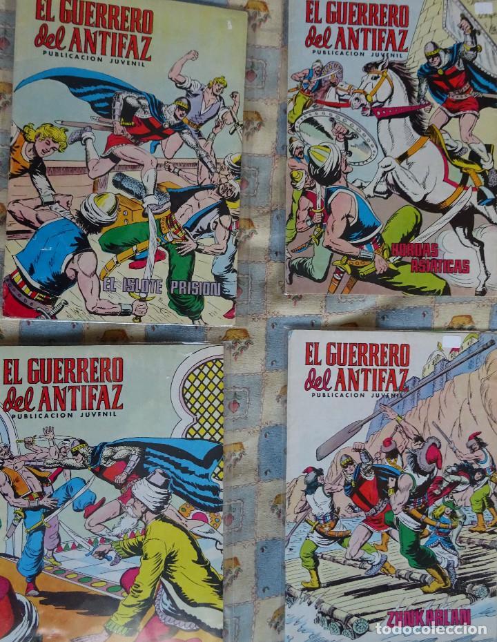 Tebeos: 87 COMINC DEL GUERRERO DEL ANTIFAC DE LA REEDICCION DE COLOR DEL AÑO 1972 DE LA EDIT. VALENCIANA - Foto 5 - 148005482
