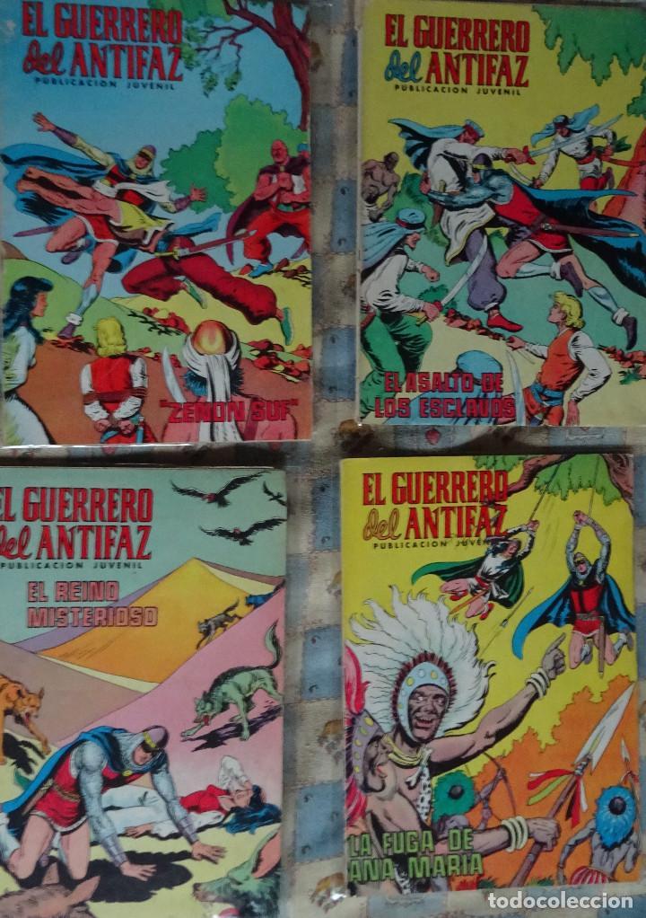 Tebeos: 87 COMINC DEL GUERRERO DEL ANTIFAC DE LA REEDICCION DE COLOR DEL AÑO 1972 DE LA EDIT. VALENCIANA - Foto 8 - 148005482