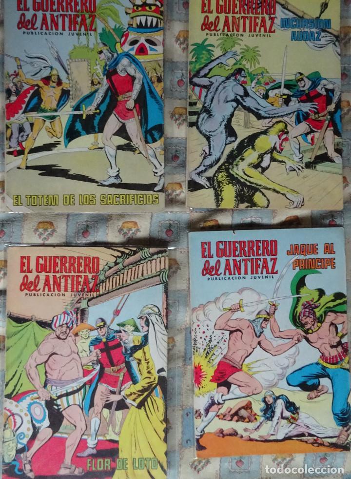 Tebeos: 87 COMINC DEL GUERRERO DEL ANTIFAC DE LA REEDICCION DE COLOR DEL AÑO 1972 DE LA EDIT. VALENCIANA - Foto 10 - 148005482