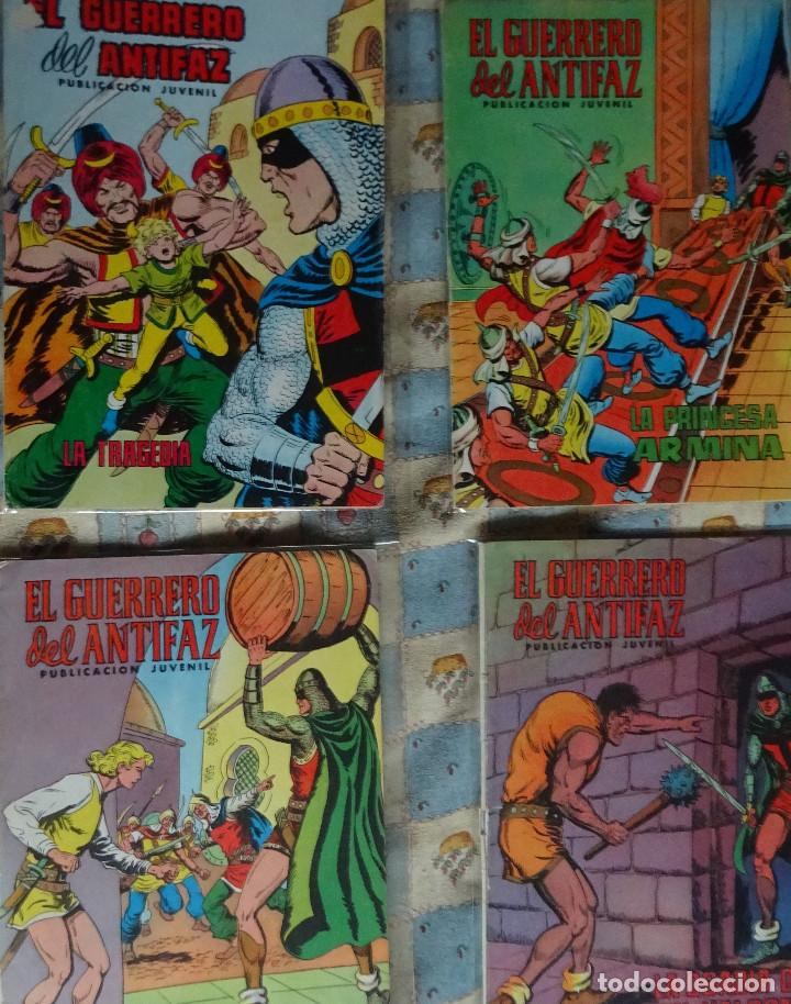 Tebeos: 87 COMINC DEL GUERRERO DEL ANTIFAC DE LA REEDICCION DE COLOR DEL AÑO 1972 DE LA EDIT. VALENCIANA - Foto 14 - 148005482