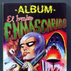 Tebeos: EL HOMBRE ENMASCARADO ÁLBUM Nº 1 EDITORA VALENCIANA 1980. Lote 148025298