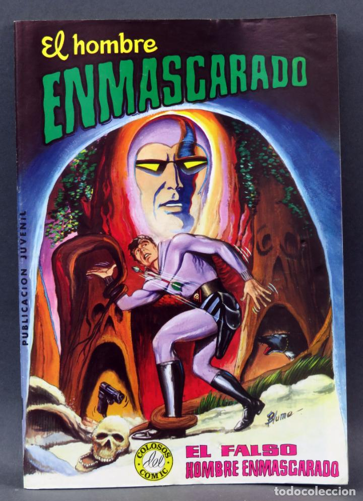 EL HOMBRE ENMASCARADO COLOSOS CÓMIC Nº 4 EDITORA VALENCIANA 1980 EL FALSO HOMBRE ENMASCARADO (Tebeos y Comics - Valenciana - Colosos del Comic)