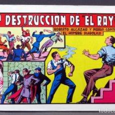 Tebeos: ROBERTO ALCÁZAR Y PEDRÍN Nº 52 EDITORIA VALENCIANA 1982 LA DESTRUCCIÓN DE EL RAYO. Lote 148046698