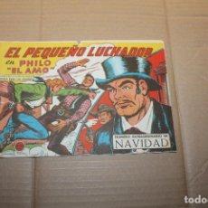 Tebeos: EL PEQUEÑO LUCHADOR Nº 212, NÚMERO EXTRAORDINARIO DE NAVIDAD, EDITORIAL VALENCIANA. Lote 148050322