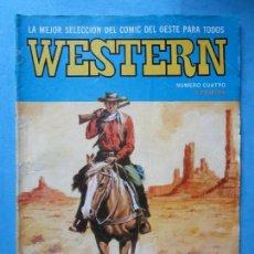 Tebeos: WESTERN Nº 4 - JOHNNY VAQUERO - VALENCIANA 1982. Lote 148023614