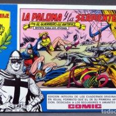 Tebeos: EL GUERRERO DEL ANTIFAZ Nº 66 HOMENAJE MANUEL GAGO EDITORIA VALENCIANA 1982 LA PALOMA Y LA SERPIENTE. Lote 148168250