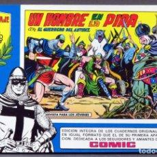 Tebeos: EL GUERRERO DEL ANTIFAZ Nº 68 HOMENAJE MANUEL GAGO EDITORIA VALENCIANA 1982 UN HOMBRE EN LA PIRA. Lote 148168622