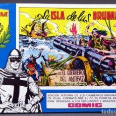 Tebeos: EL GUERRERO DEL ANTIFAZ Nº 69 HOMENAJE MANUEL GAGO EDITORIA VALENCIANA 1982 LA ISLA DE LAS BRUMAS. Lote 148169894