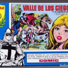 Tebeos: EL GUERRERO DEL ANTIFAZ Nº 70 HOMENAJE MANUEL GAGO EDITORIA VALENCIANA 1982 EL VALLE DE LOS CIEGOS. Lote 148170002