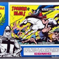 Tebeos: EL GUERRERO DEL ANTIFAZ Nº 71 HOMENAJE MANUEL GAGO EDITORIA VALENCIANA 1982 PADRE E HIJO. Lote 148170082