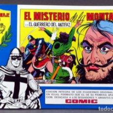 Tebeos: EL GUERRERO DEL ANTIFAZ Nº 73 HOMENAJE MANUEL GAGO EDITORIA VALENCIANA 1982 EL MISTERIO DE MONTAÑA. Lote 148170342