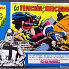 Tebeos: EL GUERRERO DEL ANTIFAZ Nº 74 HOMENAJE MANUEL GAGO EDITORIA VALENCIANA 1982 LA TRAICIÓN MERCENARIOS. Lote 148170566