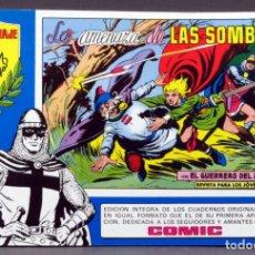 Tebeos: EL GUERRERO DEL ANTIFAZ Nº 75 HOMENAJE MANUEL GAGO EDITORIA VALENCIANA 1982 LA AMENAZA DE SOMBRAS. Lote 148170646