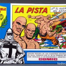 Tebeos: EL GUERRERO DEL ANTIFAZ Nº 79 HOMENAJE MANUEL GAGO EDITORIA VALENCIANA 1982 LA PISTA. Lote 148171074