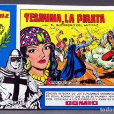 Tebeos: EL GUERRERO DEL ANTIFAZ Nº 80 HOMENAJE MANUEL GAGO EDITORIA VALENCIANA 1982 YESMINA LA PIRATA. Lote 148171178