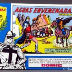 Tebeos: EL GUERRERO DEL ANTIFAZ Nº 83 HOMENAJE MANUEL GAGO EDITORIA VALENCIANA 1982 AGUAS ENVENENADAS. Lote 148171490