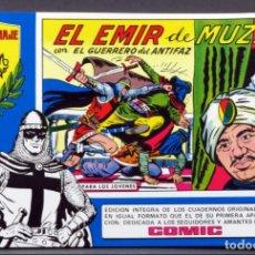 Tebeos: EL GUERRERO DEL ANTIFAZ Nº 84 HOMENAJE MANUEL GAGO EDITORIA VALENCIANA 1982 EL EMIR DE MUZA. Lote 148171546