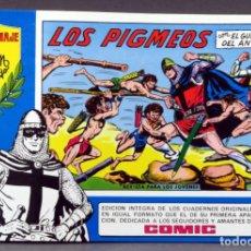 Tebeos: EL GUERRERO DEL ANTIFAZ Nº 85 HOMENAJE MANUEL GAGO EDITORIA VALENCIANA 1982 LOS PIGMEOS. Lote 148171638