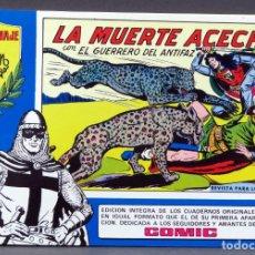 Tebeos: EL GUERRERO DEL ANTIFAZ Nº 87 HOMENAJE MANUEL GAGO EDITORIA VALENCIANA 1982 LA MUERTE ACECHA. Lote 148171878