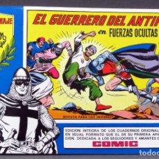 Tebeos: EL GUERRERO DEL ANTIFAZ Nº 88 HOMENAJE MANUEL GAGO EDITORIA VALENCIANA 1982 FUERZAS OCULTAS. Lote 148171970