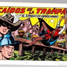 Tebeos: EL ESPADACHIN ENMASCARADO. CAIDOS EN LA TRAMPA. Nº 54. 2ª EDICION. 1982. Lote 148178849