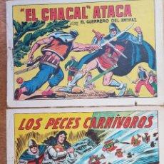 Tebeos: LOS PACES CARNIVEWROS Y EL CHACAL ATACA. Lote 148195434