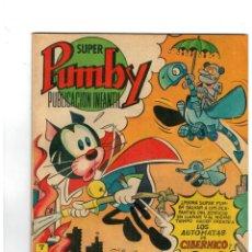 Tebeos: SUPER PUMBY Nº 102. VALENCIANA,1973. ORIGINAL. BUENO.MUY DIFÍCIL.. Lote 148223106