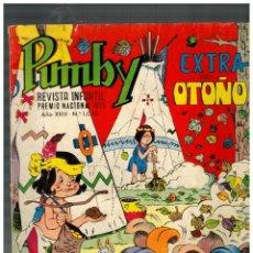 Tebeos: PUMBY Nº 1038 - EXTRA DE OTOÑO 1977 -. Lote 148232162