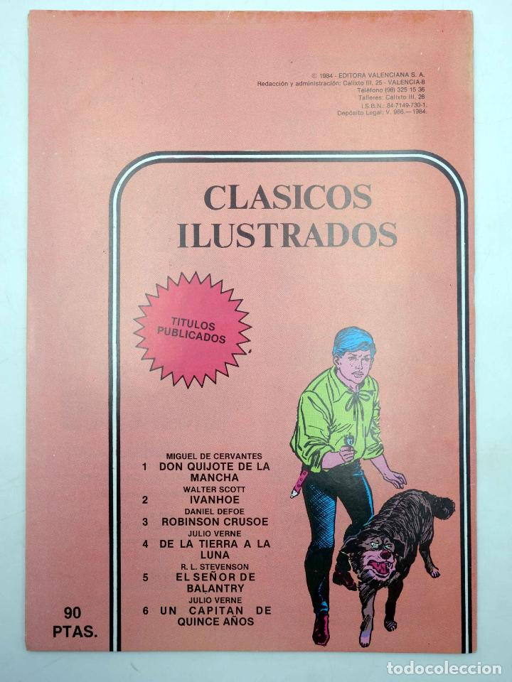 Tebeos: CLASICOS ILUSTRADOS 1 2 3 4 5 6. COMPLETA (VVAA) Valenciana, 1984. OFRT - Foto 4 - 177046134