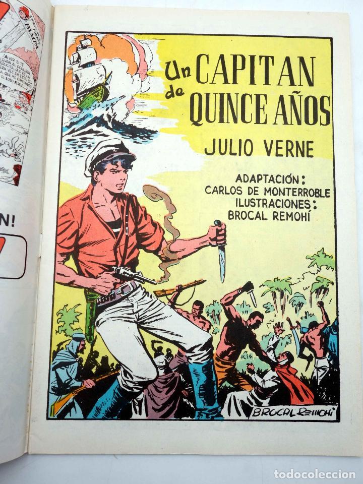 Tebeos: CLASICOS ILUSTRADOS 1 2 3 4 5 6. COMPLETA (VVAA) Valenciana, 1984. OFRT - Foto 5 - 177046134