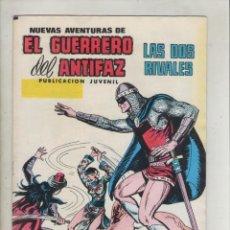 Giornalini: EL GUERRERO DEL ANTIFAZ-EDIVAL-VALENCIANA-AÑO 1974-COLOR-FORMATO GRAPA-Nº 27-LAS DOS RIVALES. Lote 148537302