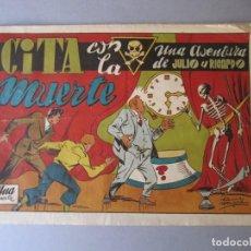 Tebeos: JULIO Y RICARDO (1945, VALENCIANA) 17 : CITA CON LA MUERTE. Lote 148682486