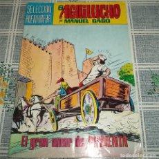 Tebeos: EL AGUILUCHO M. GAGO VALENCIANA SELECCIÓN AVENTURERA COLOR N.º 23 EL GRAN AMOR DE PIMIENTA. Lote 148701858