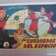 Tebeos: BARNEY BAXTER , NUMERO 2 , GUERREROS DEL ESPACIO , PRIMERA EDICION , 1950 , VALENCIANA. Lote 148771178