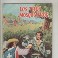 Tebeos: LOS TRES MOSQUETEROS-VALENCIANA-AÑO 1976-COLOR-Nº UNICO-FORMATO GRAPA. Lote 148809210