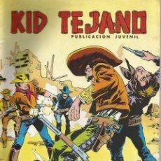 Tebeos: KID TEJANO EL ENIGMA DEL VADO DE PIEDRA Nº 22 1980. Lote 148912682